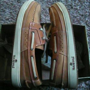 Men's Mint Condition Boat Shoes Worn one time.